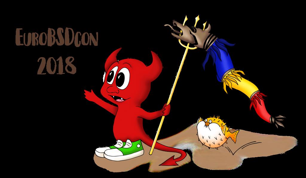 EuroBSDcon Logo